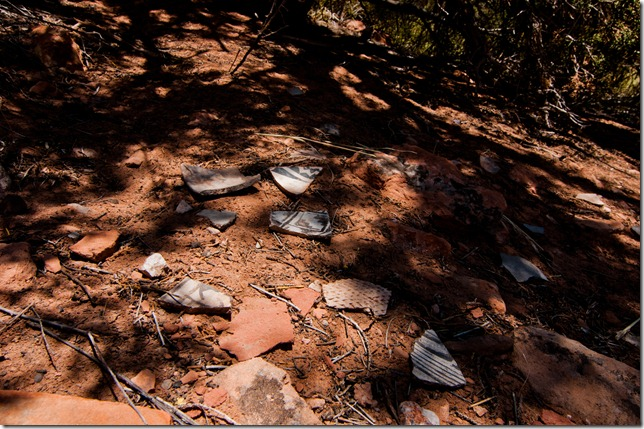 Anasazi Pot Shards