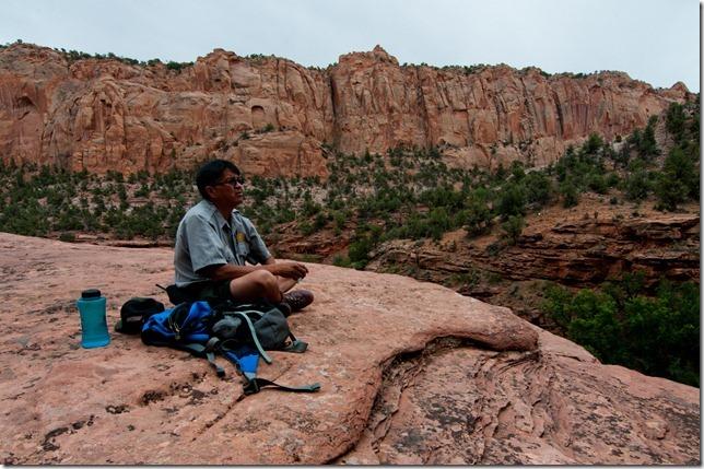 Pat Joshevama, the Hopi ranger of Betatakin