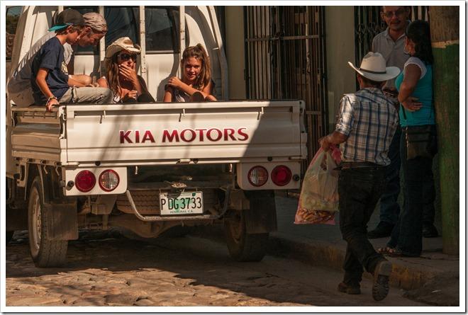 070 Public Transport Copan Style @ Copan Ruinas, Honduras