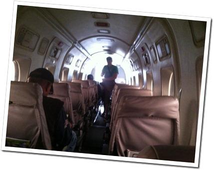 Twin Prop Beech 1900 flight Devner-Cortez flight