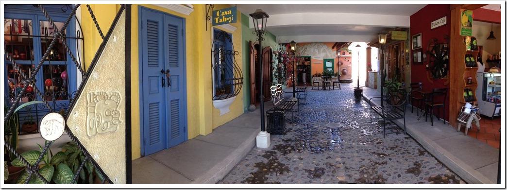 054 Yat B'alam Boutique hotel lobby in Copan, Honduras