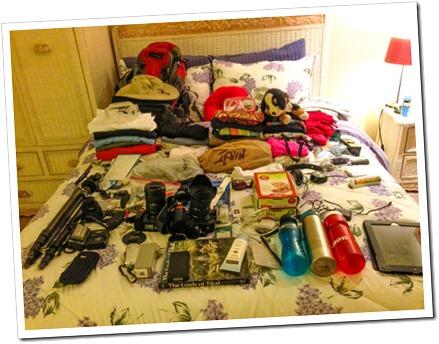 001 Luggage Checklist for the Guatemala-Hondiras Trip
