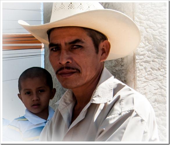 066 Residents of Copan on Christmas Morning, at Copan Runas, Honduras (2)