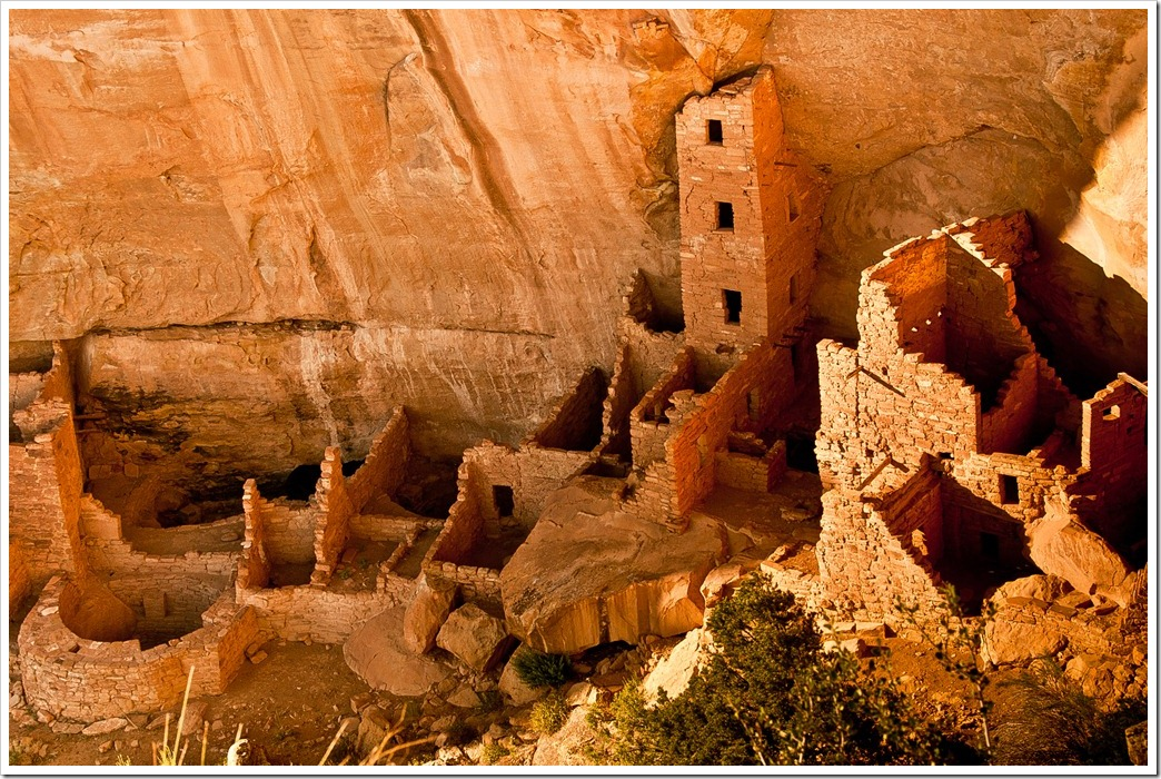 Square Tower House - Anasazi Ruin, Mesa Verde