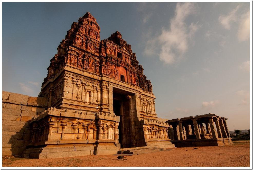 Sunrise at Vitthala Temple, Hampi