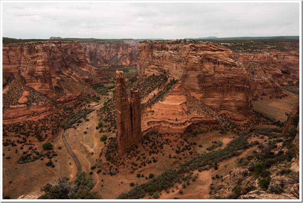 Spider Rock - Canyon de Chelley