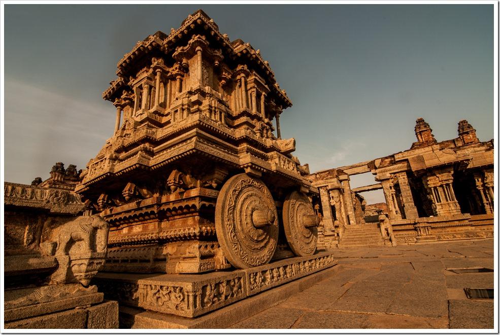 Garuda Chariot, Vitthala Temple Hampi [Shot at sunrise]