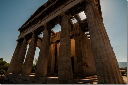 Temple of Hephastaeus in the Agora, Athens, Greece