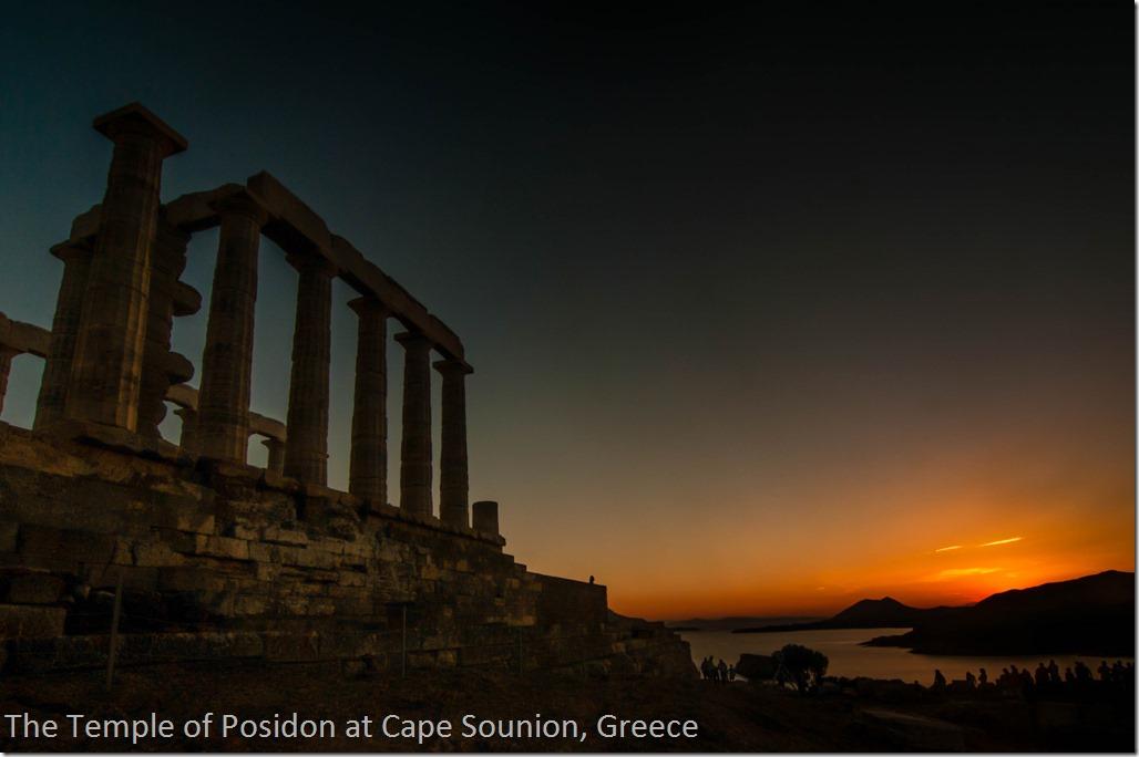 Cape Sounion Sunset, Greece
