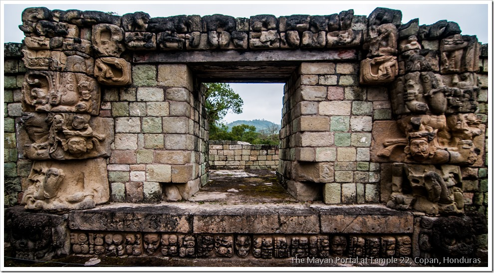 Copan, Honduras - The Mayan Portal of Temple 22