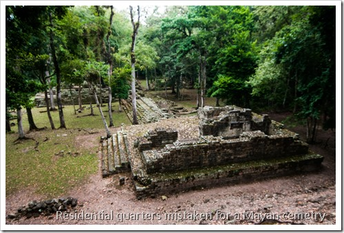 Copan, Honduras - The Royal Cemetery