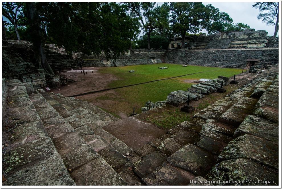 Copan, Honduras - The East Court