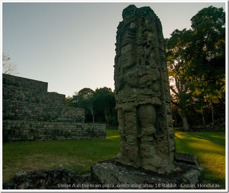 Copan, Honduras - Stelae A 2