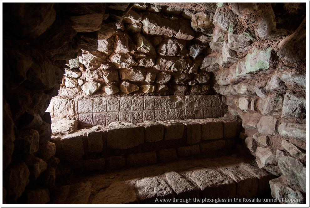 Copan, Honduras - Inside the Roasalila tunnel