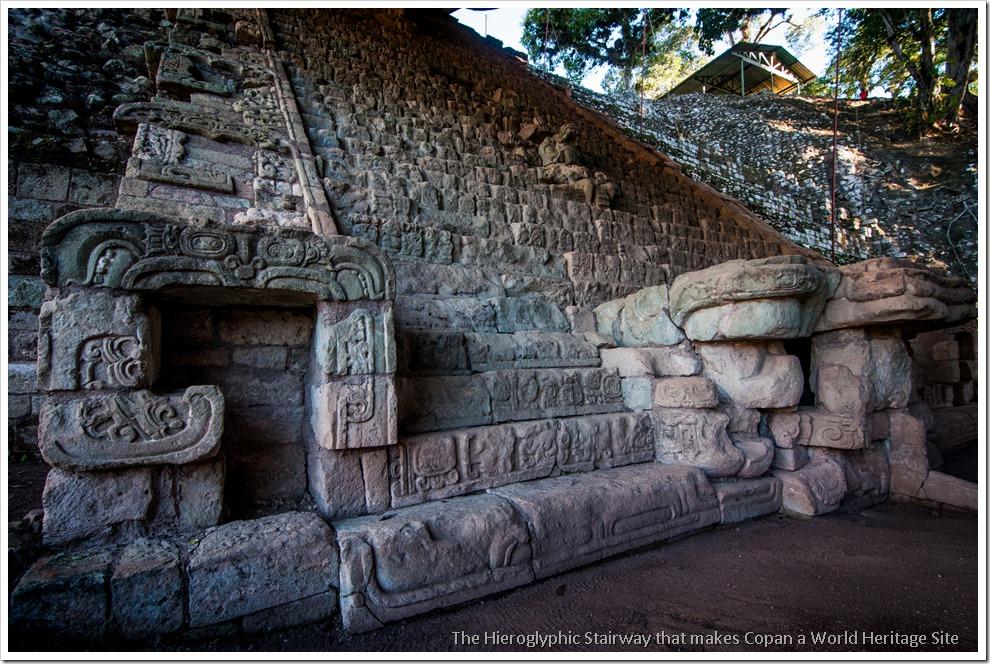 Copan, Honduras - The Heiroglyphic Staircase