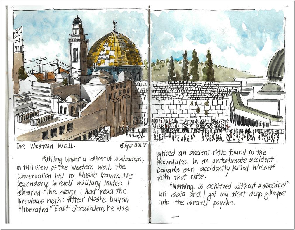 Jerusalem Sketchbook   Urban Sketchers