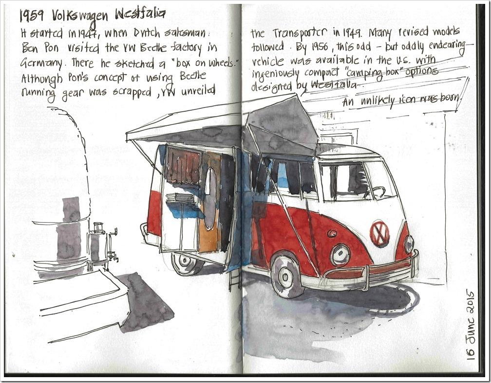 20150616 - Ford Museum Detroit, 1959 Volkswagen Westfalia