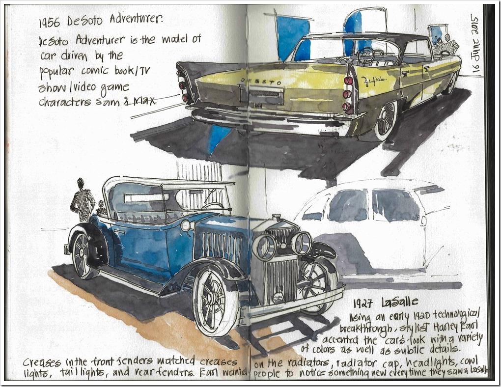 20150616 - Ford Museum Detroit, 1957 La Salle