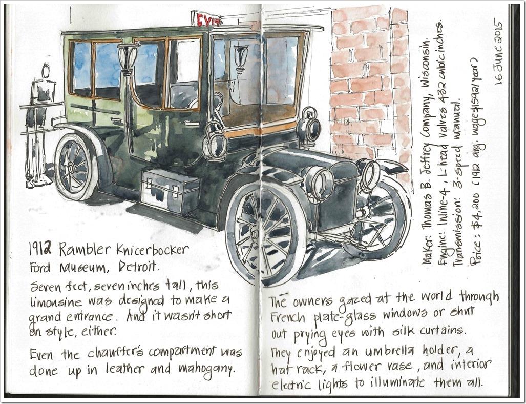 20150616 - Ford Museum Detroit, 1912 Rambler Knickbocker