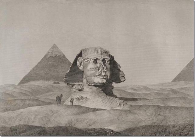 Sphinx-second-pyramid-Description-Egypt